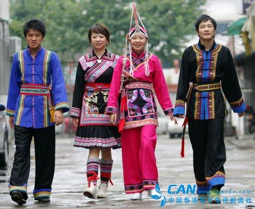 畲族服饰花纹图案凤凰