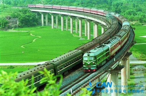 青春 和列车一起远行