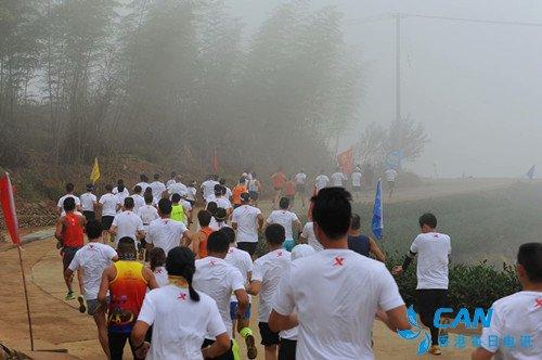 体育+旅游  星溪念山举行云上半程马拉松